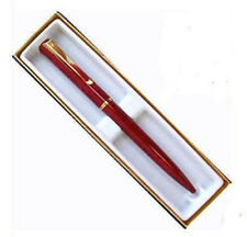 WATERMAN ALLURE RED  & GOLD BALLPOINT PEN NEW IN BOX  CAP ACTIVATED PEN