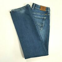 LUCKY BRAND Womens EASY RIDER Mid Rise Straight Leg Jeans Medium Wash Size 4 REG