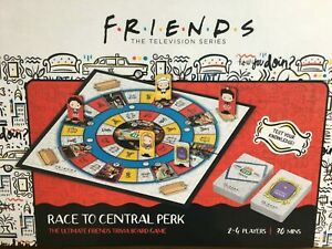 FRIENDS TRIVIA RACE TO CENTRAL PERK BOARD GAME