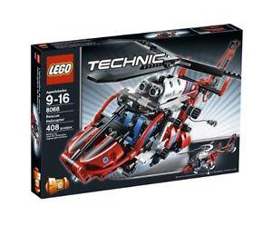 LEGO® TECHNIC 8068 Rettungshubschrauber NEU OVP_Rescue Helicopter NEW MISB NRFB