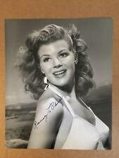 Rosemary LaPlanche Rare Stunning Original Autograph 7/9 Pin-Up Photo WWII GI '44