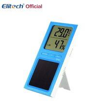 Thermometer Multi Solar Temperature Elitech LCD Indoor Hygrometer DT-6