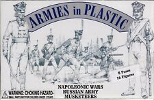 Armies in Plastic Napoleonic Wars (1803-1815) Russian Musketeers 1/32 Scale 54mm