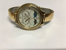 Seiko Moon & Sun Phase Men's Vintage Quartz Watch