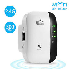 300Mbps Wireless WiFi Repeater Range Extender Network Router Signal Booster USA