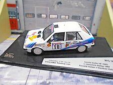 LANCIA Delta HF 4WD Rallye DRM Hunsrück Winner 1987 #10 Holzer AM IXO 1:43