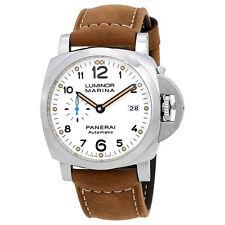 Panerai Luminor Marina 1950 White Dial Automatic Mens Watch PAM01499