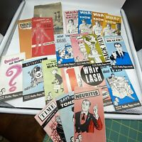 20 Vintage 1960's 1970's Medical Chiropractic Health Pamphlets Ephemera Si-Nel