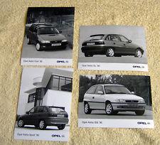 Opel Astra Mk3 Press Photos x 4, 1995 Models, GSi, Sport, GL, Club Estate