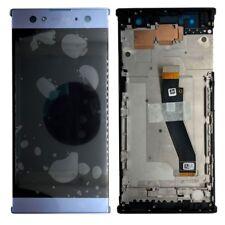 Sony écran LCD complet avec cadre pour Xperia XA2 ultras bleu échange