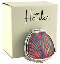 Sea Shell Pill Box for Purse Decorative Case Holder Organizer Unique Gift Cute