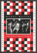 C11 BRAND NEW SEALED Muddy Waters The Rolling Stones Live At Checkerboard (DVD)