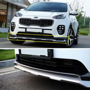Front Bumper Lip Unpainted for 2017 2020 Kia Sportage