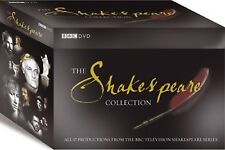 THE SHAKESPEARE COLLECTION DVD 37 Discs BOXSET Alan Rickman UK Release New R2