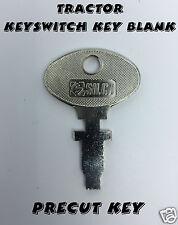 TRACTOR Precut  Keyswitch Key FIAT-Bosch-Lucas