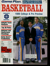 Games Plan's 1989 College & Pro Basketball Preview