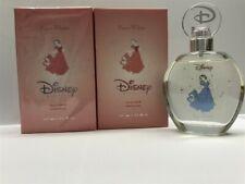 Lot of 2 Disney Princess Snow White for Girls 3.4 oz Eau De Toilette Spray