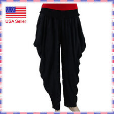 8050 Women Stretchy Ballroom Latin Country Party Comfortable Warmup Dance Pants
