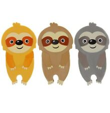 Take It Easy Hug A Sloth 3 Pack of Erasers Kids Rubbers Stationery