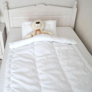 Decke Sommerbett Leichtedecke für Baby Kinder Wellensteppung 100x135cm nur Decke