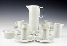 15pc Coffee Service Block Langenthal Switzerland Transition White - Modernist