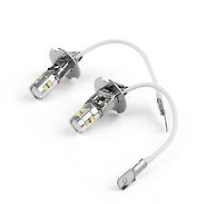 H3 5W High Power LED 6500K White for Car Fog DRL Light Headlight Bulb 12V DC UE