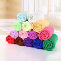 New Solid Color Water Absorbent Microfiber Towel Car Washing Fast Drying Towel
