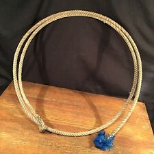 Vtg Lariat Cowboy Lasso Rodeo Western Decor rope horse cattle roping PRIORITY