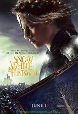 SNOW WHITE AND THE HUNTSMAN MOVIE POSTER 27x40 KRISTEN STEWART ADVANCE & BONUS