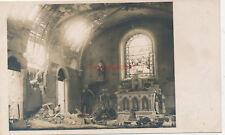 AK, wk1, photo, Regard sur une église a détruit chez Reims en France (N) 19803