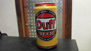 original duff simpsons  beer can