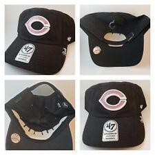 NWT Cincinnati Reds 47 Hat Cap Pink Black Baseball MLB Adult Women Sequin Shiny