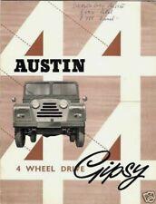 Austin Gipsy parts /& service Vintage Métal Mural Signe Rétro Garage Abri 4x4 2x4