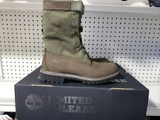 Timberland Special Release 6 Inch Premium Gaiter Boots Mens Size 8.5 Brown Green