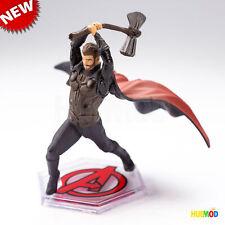 Disney Store AVENGERS THOR God of Thunder Cake Topper Figure Marvel End Game NEW