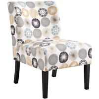 Accent Chair Armless Upholstered Chair Slipper Chair Bedroom Living Room Chair