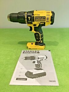 Stanley FatMax FMC626 Cordless 18V Li-ion Brushed Combi Hammer Drill Body Only