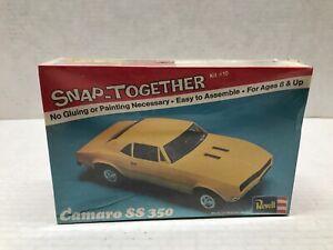 VINTAGE ORIGINAL 1974 ISSUE REVELL 1/32 SCALE CAMARO SS 350 SEALED MODEL KIT