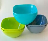 ODEA 18 Piece Salad/Snack/Pasta/Cereal Bowl Set .5 L Durable Reusable & BPA Free