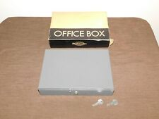 Vintage Steelmaster Metal Office Cash Box With Money Tray No F10 New In Box