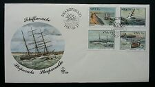 South Africa Ship 1987 Sail Boat Vehicle Transport (stamp FDC)