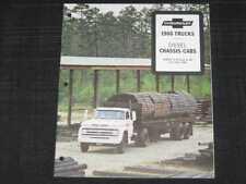 1966 Chevrolet Diesel Trucks Folder Sales Brochure
