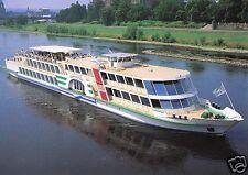 """AK, Dresden, Motorschiff """"August der Starke"""", um 1998"""
