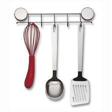 NEW Magnetic Hook Utensil Holder Rack Stainless Steel Kitchen Organization