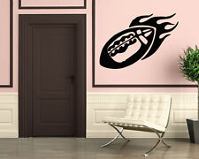 Wall Stickers Vinyl Decal Mural Sport Football Super Bowl  Leather Ball  z311