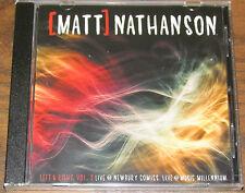 "Matt Nathanson ""Left & Right Vol. 2 LIVE"" *RSD* CD NEW/SEALED *3000 Made*"