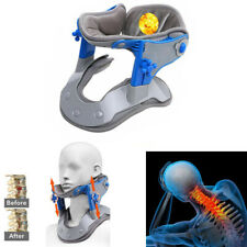 Medical Cervical Vertebra Tractor Traction Support Brace Neck Pain Relief Device