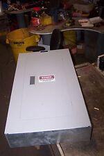 SIEMENS 100 AMP MAIN LUG PANELBOARD 120/240 VAC 1 PHASE 3 WIRE 42 CIRCUIT