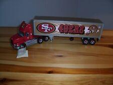 Franklin Mint SF 49ers Mack Truck + Trailer Precision Model Mint 1:43 scale NICE