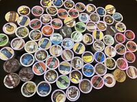 500 K Cups Lot Coffee Tea Hot Cocoa Variety Pods Keurig K-Cup Read Description
